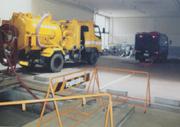 地下1階 駐車場 排水管 貯水槽 清掃 愛知県