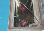 地下2階 汚水・雑排水槽 排水管 貯水槽 清掃 愛知県